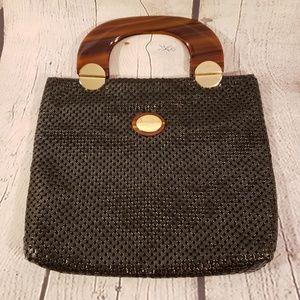 Whiting and Davis vintage bag